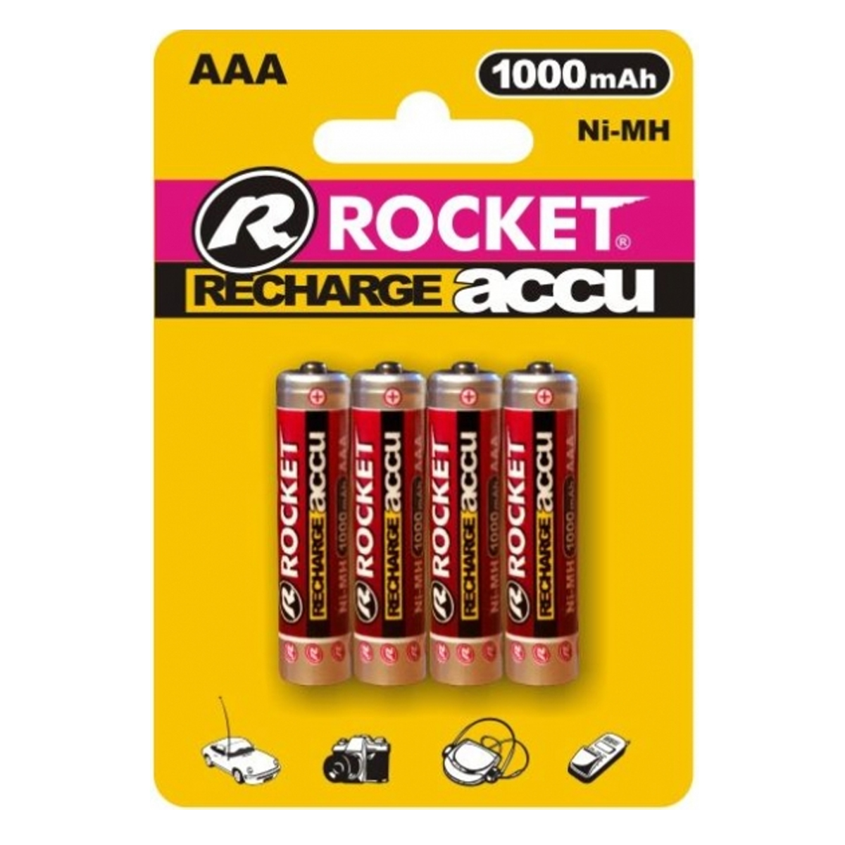 4st rocket aaa akku 1000 mah ni mh micro r03 rechargeable batterie battery accu ebay. Black Bedroom Furniture Sets. Home Design Ideas